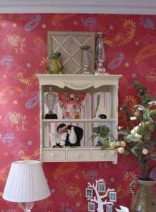 美式风格三居室原木色富裕型客厅沙发效果图