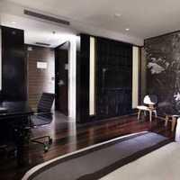 求和一样100平方米三室两厅户型的装修效果图