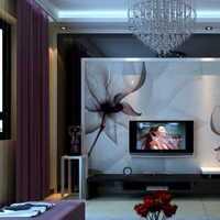 電視柜客廳現代大戶型裝修效果圖