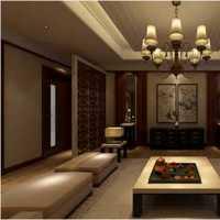 客厅美式置物架沙发装修效果图