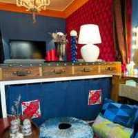 卧室背景墙沙发简约头柜装修效果图