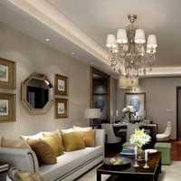 201平米以上别墅美式风格装修黄色卧室效果图