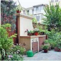 时尚欧式别墅庭院门装修效果图