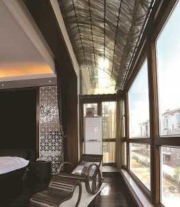 阳台装饰花架