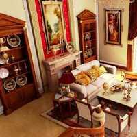 简约风格小复式楼装修78平华丽变身豪宅