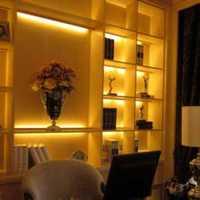 欧式风格小户型3万-5万客厅书架效果图