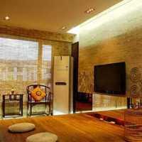 现代客厅置物架装修效果图