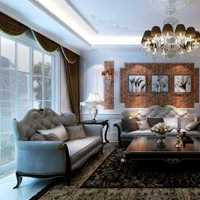 客厅承重柱中式装修效果图