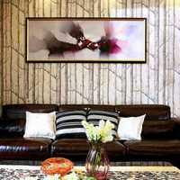 客厅电视背景墙壁画效果图集