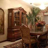 餐厅过道照片墙现代家具装修效果图