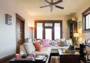 現代風格裝修二居室內大理石餐桌效果圖