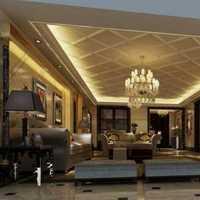 实木家具美式客厅吊灯客厅装修效果图