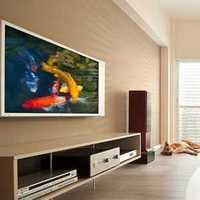 窗帘经济型二居室装修效果图