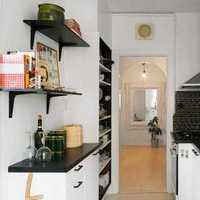 厨房和客厅间窗户装修效果图
