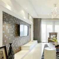 三居现代简约白色客厅装修效果图