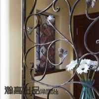 东南亚客厅手绘装修效果图