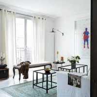 客厅窗帘韩式茶几沙发装修效果图