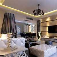 现代别墅中式客厅装修效果图