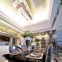 餐厅现代简约吊灯餐边柜装修效果图