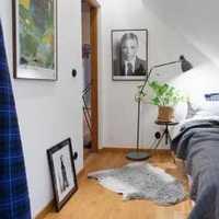条纹墙纸搭配古典欧式家具装修效果图