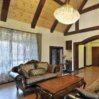 美式家具水晶吊灯吊灯美式装修效果图