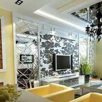 現代二居客廳沙發背景墻效果圖