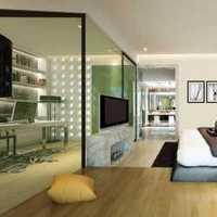 现代简约四居主卧室装修效果图