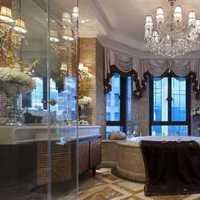 浴缸浴室三室两厅两卫装修效果图