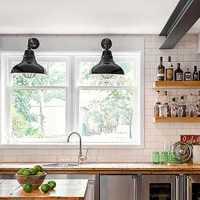 21万厨房橱柜老房翻新装修效果图