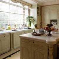 地中海橙色灯饰厨房装修效果图