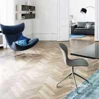曲美实木家具客厅装修效果图