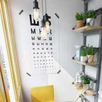 书桌灯具富裕型书架装修效果图