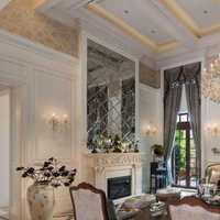 中式茶楼茶室背景墙装修效果图