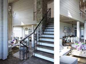 家里老房子装修,客厅的窗户下面挨着沙发,适合做什么式样