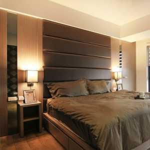 金属风格的卧室
