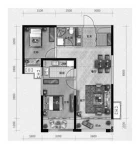 福州40平米1居室老房裝修需要多少錢