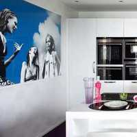 进门对面厨房装修效果图
