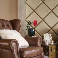 双人沙发柚木家具茶几灯具装修效果图