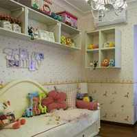 原木复式儿童房装修效果图