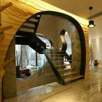 110平米三室二厅二卫紧凑户型房屋装修设计