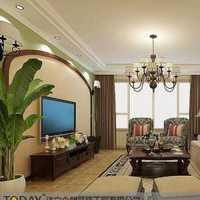 客厅吊灯沙发现代三居装修效果图