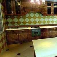 80平厨房精装修效果图