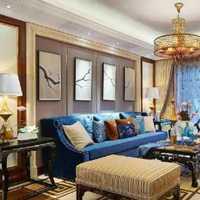 三居客厅新中式家居摆件装修效果图
