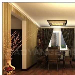 100平方中式客厅装修效果图大全