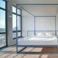 卧室背景墙北欧衣柜装修效果图