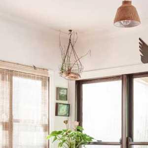 美式新古典三居室客厅隔断效果图