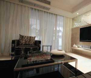三室兩廳兩衛客廳大戶型電視背景墻效果圖