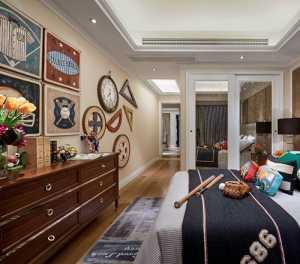 100平米房子两室装修效果图