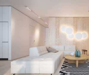 黑白和木色简约风格家居装修设计