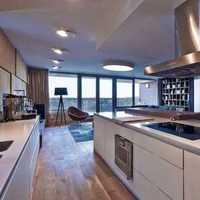 明朗的色彩妆点两居室客厅效果图效果图